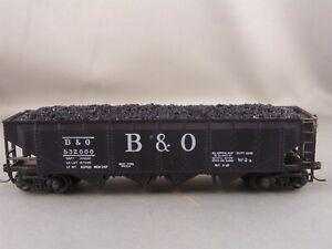 Athearn - Baltimore & Ohio - 40' Quad Hopper w/Load + Wgt # 532000 w/Kadees