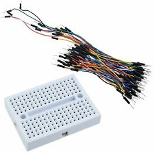 170 Point Solderless PCB Breadboard + 65pcs Jumper Wire Cables