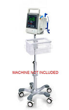 Rolling Roll stand for Mindray Vs-600/vs-900 vital sign monitor ,big wheel, new