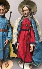 5v7: Barock Krippenfigur Hl.Maria Mutter Gottes südd. Österreich Italien? ~1760