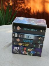 More details for dr who bbc vhs tapes vintage bundle lot classic small collection