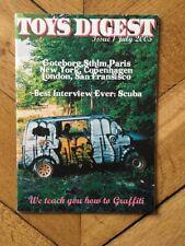 Graffiti Magazine Toys Digest Rare 2005