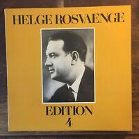 HELGE ROSVAENGE - EDITION 4 - LP VINILE 33 GIRI