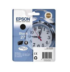 Original Epson 27 T2701 Alarm Clock Black - Boxed - Date - 10/2022