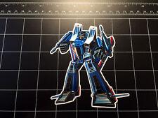Transformers G1 Thundercracker box art vinyl decal sticker Decepticon jet 80's