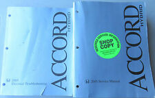 2005 Honda Accord HYBRID Service Manual Repair Shop Workshop Electrical Wiring