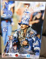 Zebra Magazin MSV Duisburg + 25.09.1999 + Bundesliga gegen FC Schalke 04 -/333