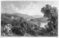 DEVON. Sharpham, on the river Dart (The seat of Capt John Bastard, RN MP) 1829