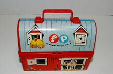 Fisher Price  549 minature lunch pail and thermos 1962