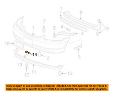 ACURA HONDA OEM Front Bumper-License Bracket Nut 90305SH3000