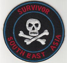 Wartime South East Asia Survivor Patch