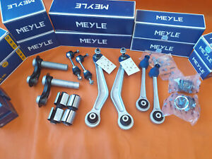OE MEYLE REAR Rep SET KIT BMW E60  E61 BALL JOINT bush arm wishbone suspension