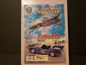 1996 BATMOBILE 1980'S COMIC BOOK BATMOBILE HORIZON RESIN KIT 40YR  COLLECTION