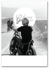 Greasy Kulture Magazine 55 GKM Harley Triumph panhead WLA ironhead Chopper BSA
