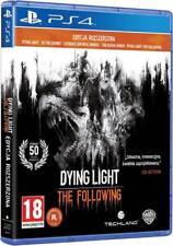 DYING LIGHT ENHANCED EDITION SONY PS4 NEU DEUTSCH THE FOLLOWING UNCUT ENCHANCED