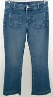 NYDJ Flare Trouser Jeans Size 10 Blue Not Your Daughters Jeans