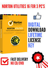 Norton Utilities 16.0 (2019) for 1 PC DOWNLOAD for Windows XP, Vista, 7, 8 &10