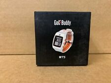 Golf Buddy WT5 Watch Range Finder Golf Rangefinder White/Orange NEW! Golfbuddy