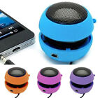 Mini Portable Rechargeable Audio Player Aux Speaker Wired 3.5mm Headphone Jack !