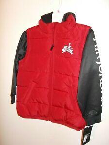 NWT Boys Size 6 Nike Jumpman Gym Red Jacket/Hoodie New $70
