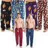 Mens Microfleece Lounge Pants Pyjama Bottoms Sizes S M L XL Check Warm Fleece