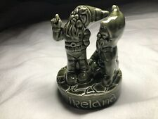Leprechauns Vintage Ireland Knock Pottery Vase