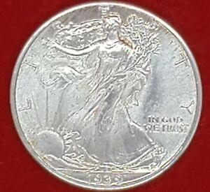 ☆•♡•☆1939 P Walking Liberty Silver Half Dollar, Choice BU+,$0.50 USD, 50C!!!