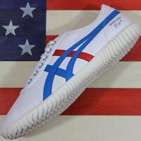 Asics Onitsuka Tiger Tsunahiki SAMPLE shoe White/Red/Blue [1183A084-100] Men's 9