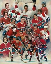 Montreal Canadiens Legends Roy Richard Morenz DrydenUnsigned 8x10 Photo Collage