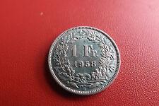 *Schweiz 1 Franken Silber 1958 B.* (KOF1)