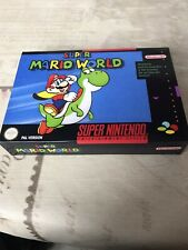 Caja  (Repro) Super Mario World(Super Nintendo )