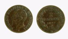 pci4042)  Vittorio Emanuele II  (1861-1878)  2 Centesimi Valore 1867 Mi
