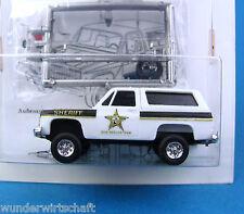 Trident ALPHA h0 90042 CHEVROLET BLAZER shérif Chevy US Police HO 1:87