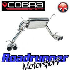 """Cobra sport MR2 Roadster Système D'échappement Inoxydable 2.25"""" CAT BACK Quad sortie TY06"""