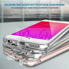 Slim Transparent Crystal Clear Hard TPU Case Cover For iPhone 7