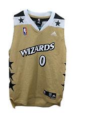 New listing Gilbert Arenas Washington Wizards Gold Adidas Swingman Alt Jersey Youth Medium