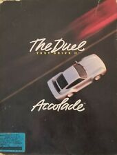 """The Duel Test Drive 2 Accolade Game 1989 For IBM/Tandy DOS PCs 5.25"""" Disks"""