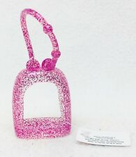 1 Bath & Body Works PINK GLITTER Pocketbac Holder Sanitizer Case Sleeve Carry
