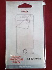 Screen Protectors for iPhone 5 Display 3 Pack NEW Verizon