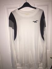 Hollister long sleeve top, White, Small