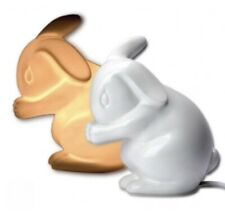 Porcelain Rabbit Lamp ~ for Baby Nursery and Childrens Rooms
