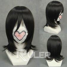 Anime BLEACH Kuchiki Rukia Black Cosplay Wig COS-192B