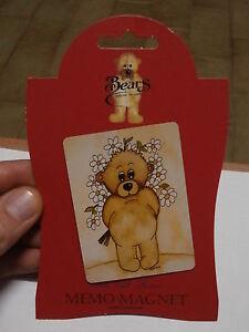 Rare Refrigerator Magnet Sarah Jane Bears Collection Magnet Fridge Collection