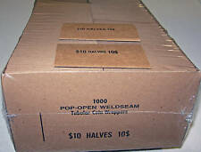 1000 HALF DOLLAR COIN OLD STYLE FLAT WRAPPERS
