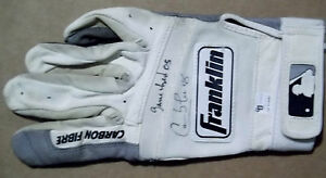 CARLOS LEE Signed Game Used/Worn 2005 Batting Glove Auto Milwaukee Brewers GAI