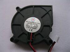 1 pcs Brushless DC Cooling Blower Fan 6015S 12V Black 2 Wires