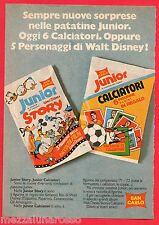 Pubblicità Advertising SAN CARLO Junior 1972