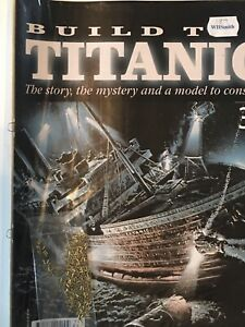 1/250 Hachette Build The Titanic Model Ship Issue 34 Inc Part Pictured.