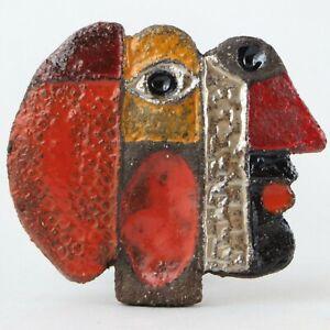 Sculpture Bijou JACOTTE & ROGER CAPRON Céramique VALLAURIS Pendentif Art 20th...