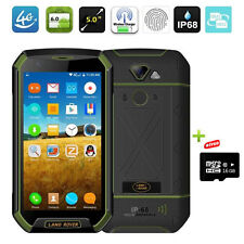 Discovery Android 6.0 Rugged 4G Phone 5''Mobile Wireless Charger LAND ROVER 16GB